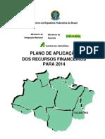 Plano de Aplicacao to 2014