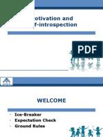 PPT Slides Session 4 & 5 (CAE) Motivation and Self Introspe