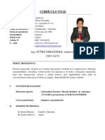 CURRICULO ING. ANDERSON NUÑEZ FERNANDEZ