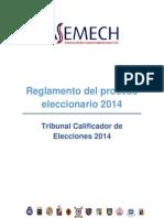 Reglamento Elecciones TRICEL 2014