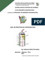 Manual de prácticas de Biotecnología Agroindustrial, Ing. Anderson Núñez Fernández