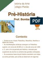 ARTE NA PRÉ-HISTORIA