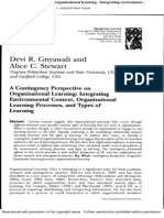 A contingency perspective on organizational learning - Integ.pdf