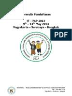 Formulir IT-FCP 2014