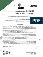 Tarifas de Registros Notariales 2014