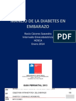 Manejo Diabetes en Embarazo