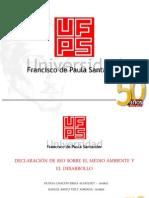 Declaracion de Rio de Janeiro
