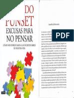 Libro Escusas Para No Pensar Eduardo Punset