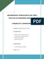 Laboratorio de Fisica i - Colisiones Final