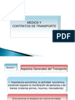 Medios y Contratos de Transporte Internacional