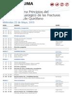 064 Aotrauma Cartelera Ptqf Lima - Peru v-22!24!2013