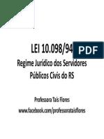 Lei 10098 Esquematizada Prof Tais CPC
