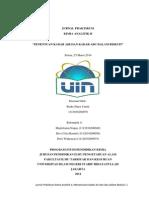 Jurnal Praktikum Penentuan Kadar Air dan Kadar Abu dalam BIskuit