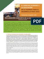 Declaracion Sociedad Civil 2013 Derecho Humano.pdf