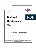 Nat Examiners Handbook Grade 3 2013