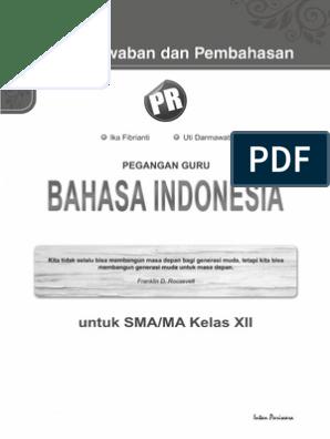 01 Kunci Jawaban Bahasa Indonesia Kelas 12 Copy