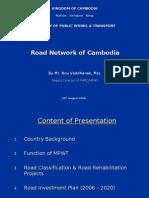 20516286 Road Network of Cambodia