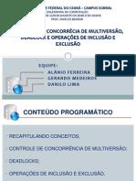 CONTROLE DE CONCORRÊCIA-Equipe