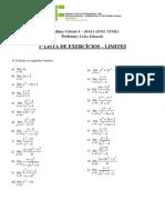 1ª Lista de Limites (1)