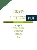 Arboles Nativos de Argentina