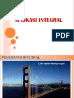 11 Aplikasi Integral Luasvolume