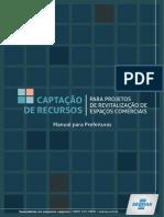 Captação de Recursos para prjetos de revitlização comercial