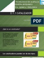 2.1.1 Catalizadores