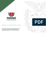Manual Marca Paraná