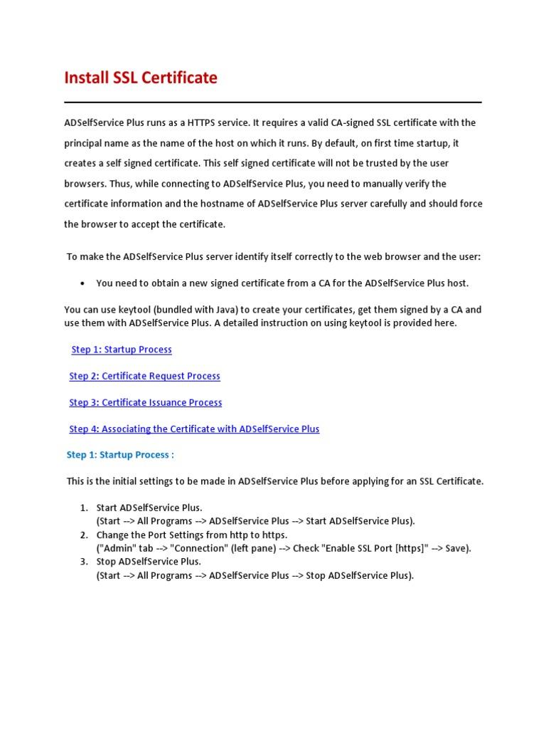 Adselfserviceplus installsslcertificate public key certificate adselfserviceplus installsslcertificate public key certificate transport layer security xflitez Gallery