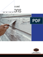 paint problems and solutions brochure