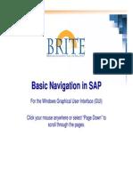 Super User Basic Navigation in SAP Windows 12-05-07
