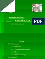 207769126 Curso Valorizacion y Liquidacion de Obra