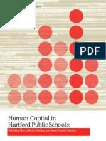Human Capital in Hartford Public Schools NCTQ Report