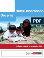 1.- Marco del buen desempeño docentes