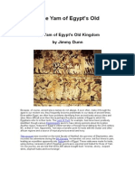 The Yam of Egypt's Old Kingdom
