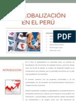 La Globalización en el Perú