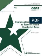 Streetlightinrteg Reduce Crime