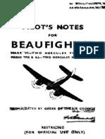 Beaufighter Pilot Manual