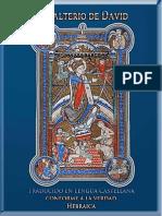 Salmos - Traducido Del Hebreo en 1600