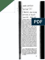 Bourdieu - Postface (Panofsky -Architectur Gothique)