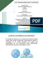 Arreglo de Antenas Exposicion