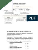 Árbol de Causas - Eleccion de alternativas