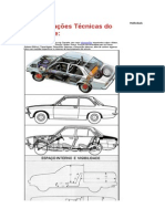 Especificações Técnicas do Chevette