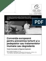 Conventia Europeana Pentru Prevenirea Torturii