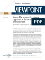 Viewpoint Career Management