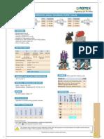 Rotex FCS Cat 2013 51400 51401 5 2 Way Internal Pilot Operated Single Solenoid Poppet Valve