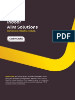 Indoor ATM Product Sheet