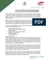 Politeknik Manufaktur Astra (Polman Astra) Kembali Membuka Program Beasiswa Prestasi Astra Tahun Akademik 2013-2014