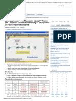 CCNA Exploration 1_ Configuración básica PT Practice SBA - Aspectos básicos de networking v4.0 Respuestas 2013-2014 respuesta completa «QCrack.Com - i aprender - CCNA Exploration 4