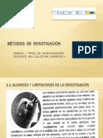 METODOS DE INVESTIGACIÓN